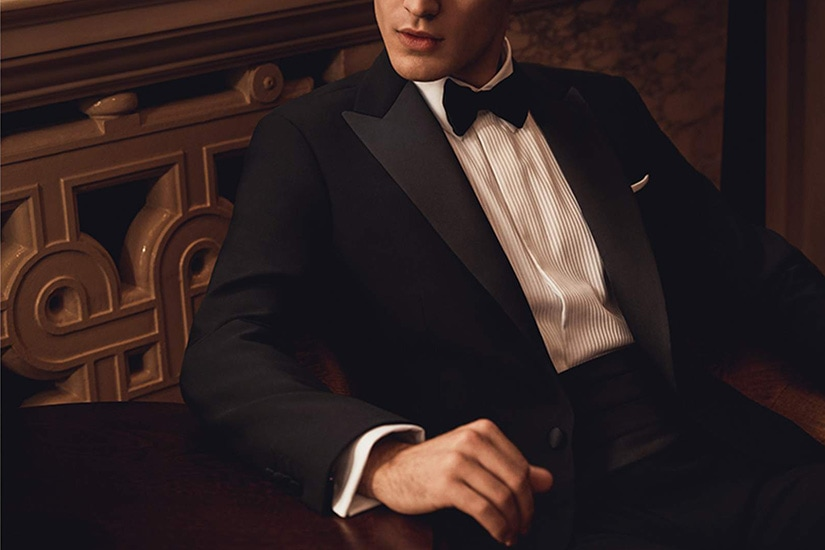 Formal cocktail attire for men