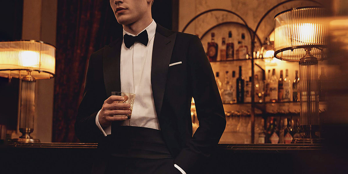 cocktail attire men party luxury - Luxe Digital