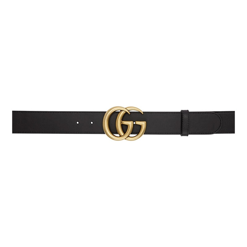 best luxury gift women Gucci women black belt - Luxe Digital