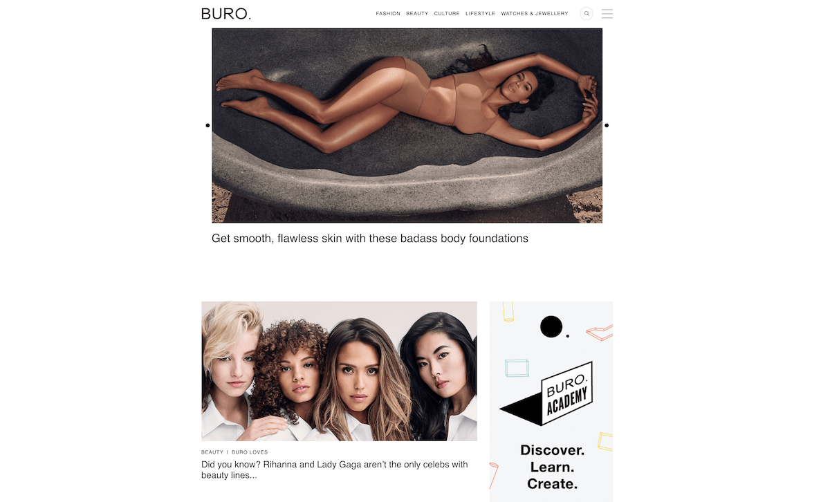 best luxury magazine Buro 24/7 - Luxe Digital