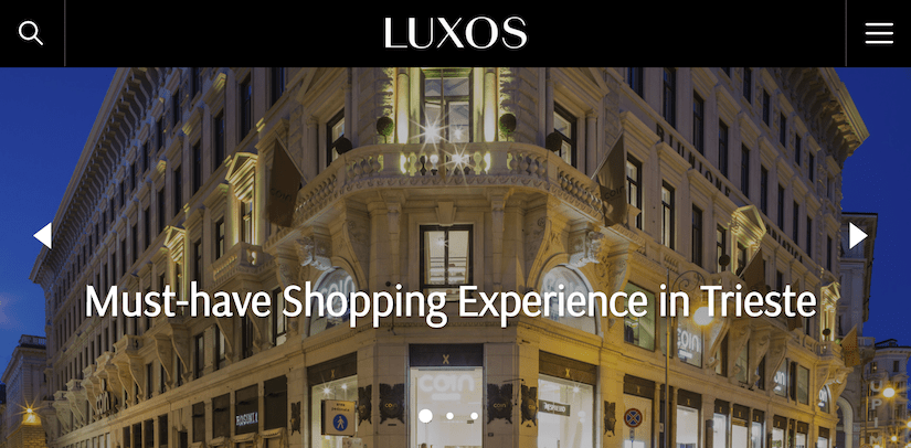 best luxury magazine Luxos - Luxe Digital