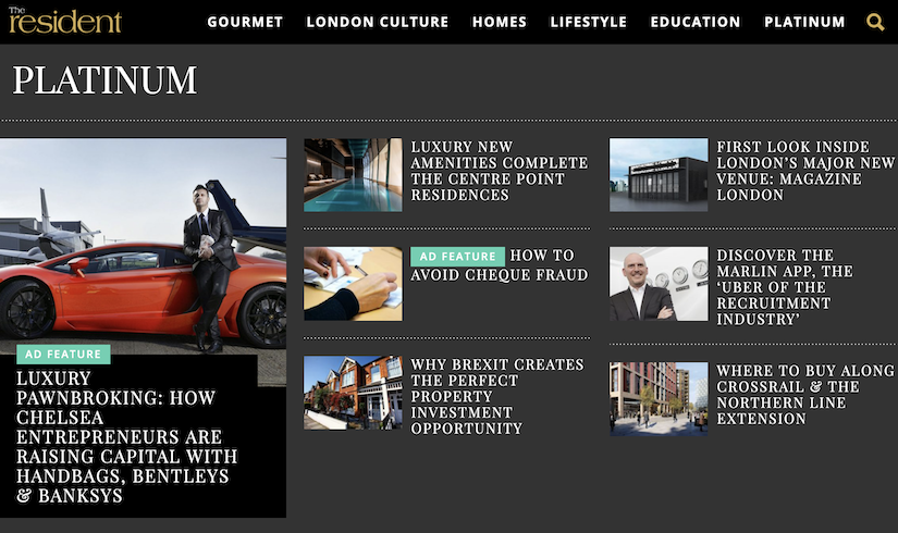 best luxury magazine The Resident - Luxe Digital