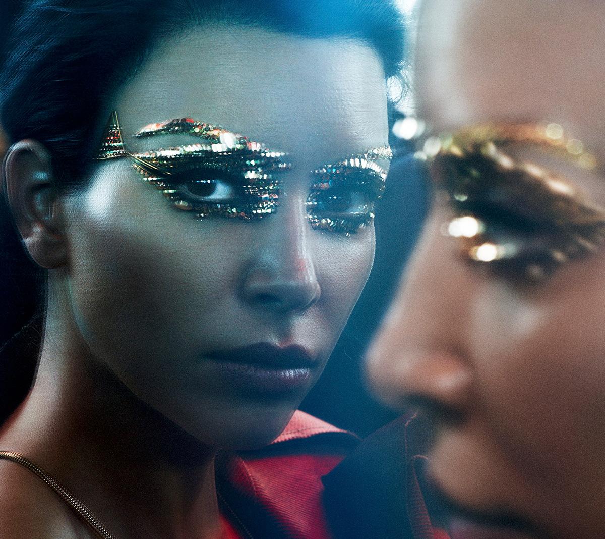 Luxe Digital luxury marketing strategy beauty skin care Kim Kardashian Violet Grey