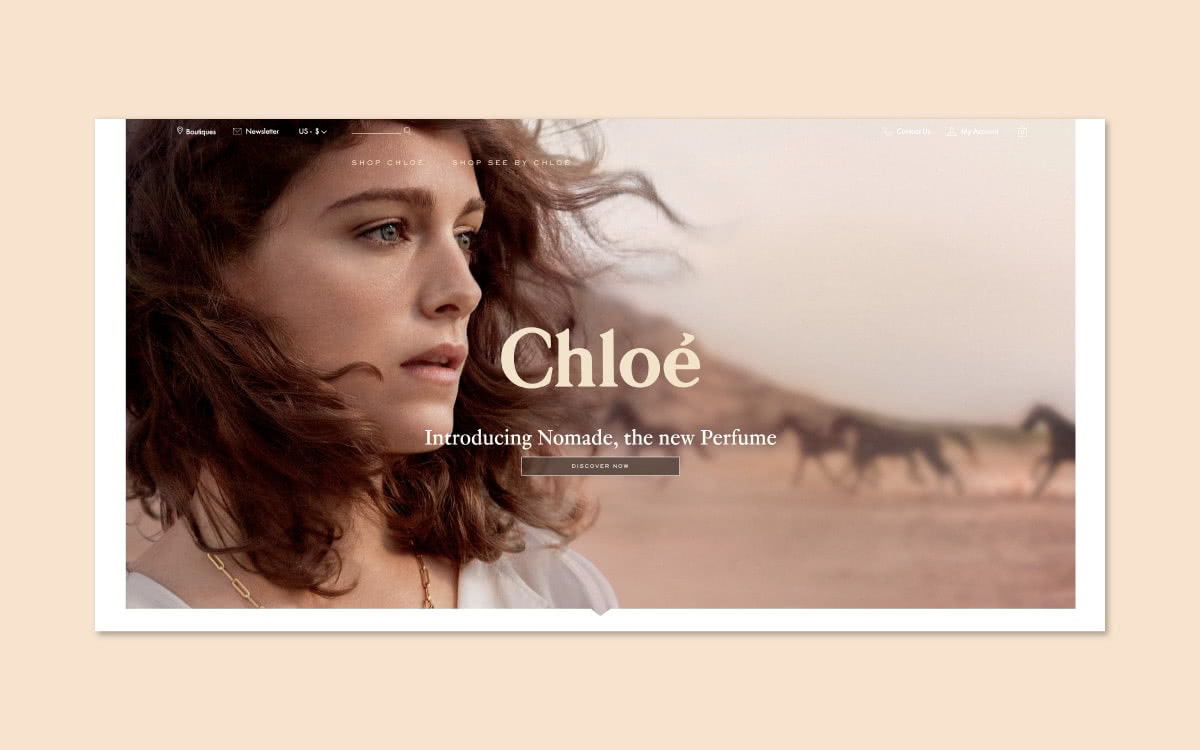 Luxe Digital luxury monobrand online retail YNAP Chloe flagship store