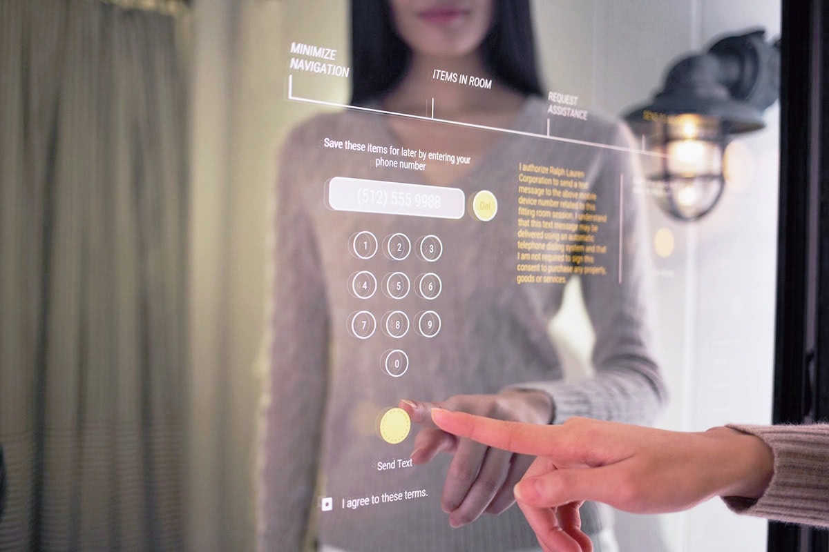Luxe Digital luxury retail technology trends 2018 interactive mirror
