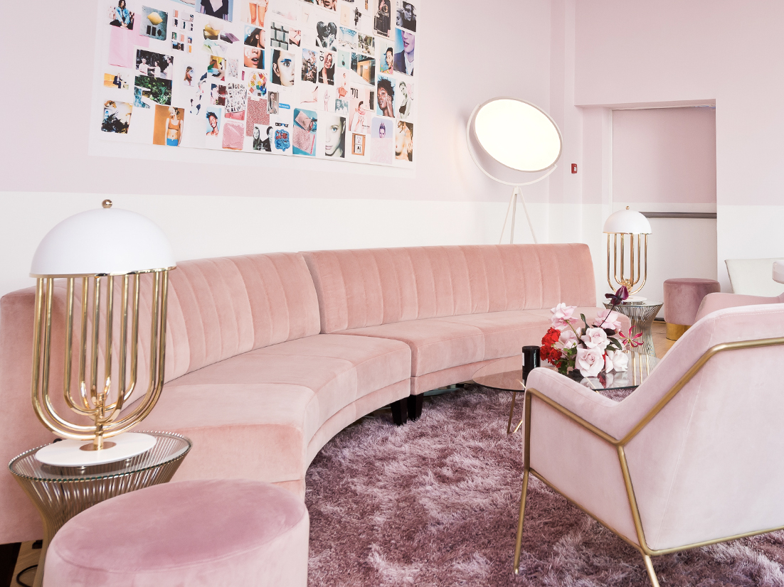 Glossier showroom social media worthy - Luxe Digital Future online luxury retail