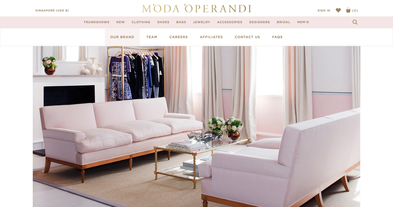 Moda Operandi private showroom Luxe Digital future online luxury retail