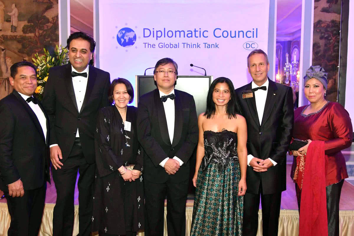 Luxe Digital luxury lifestyle Singapore Diplomatic Council Gala