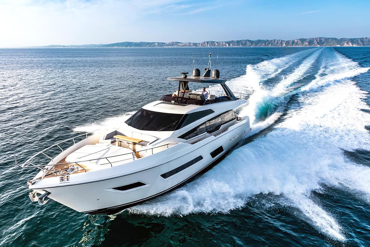 Luxe Digital luxury lifestyle Singapore yacht show 2018 ferretti 780