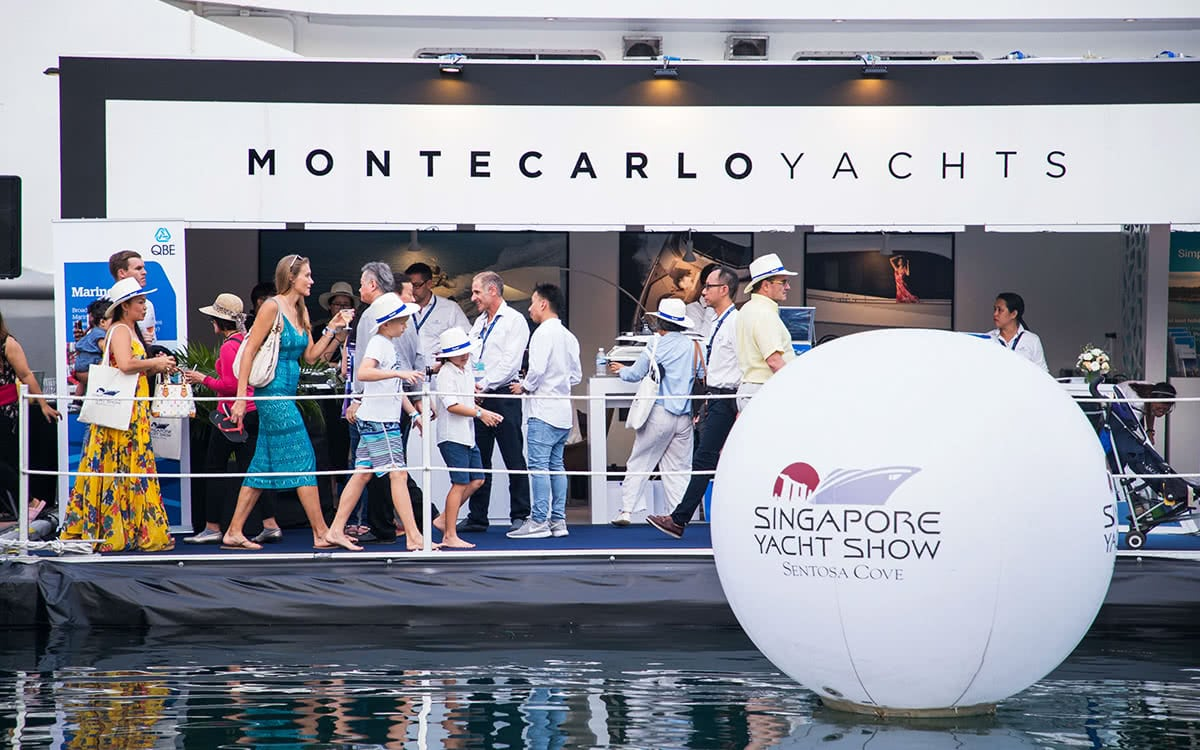 Luxe Digital luxury lifestyle Singapore yacht show 2018 vip