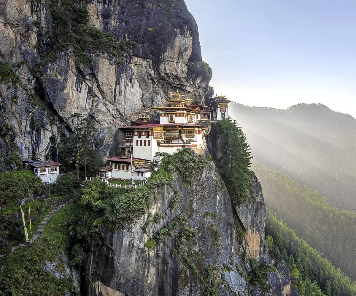 Luxe Digital travel Bhutan Tiger's Nest Paro Taktsang