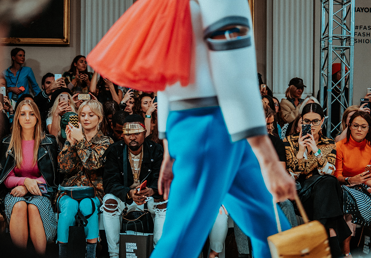 fashion runway influencers Luxe Digital luxury fashion Millennials