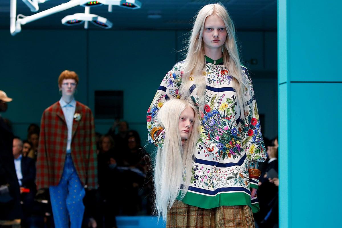 Gucci Milan Fashion Week Luxe Digital luxury fashion Millennials