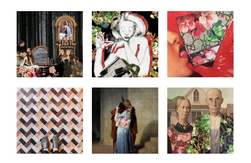 guccigram campaign instagram luxe digital luxury fashion millennials