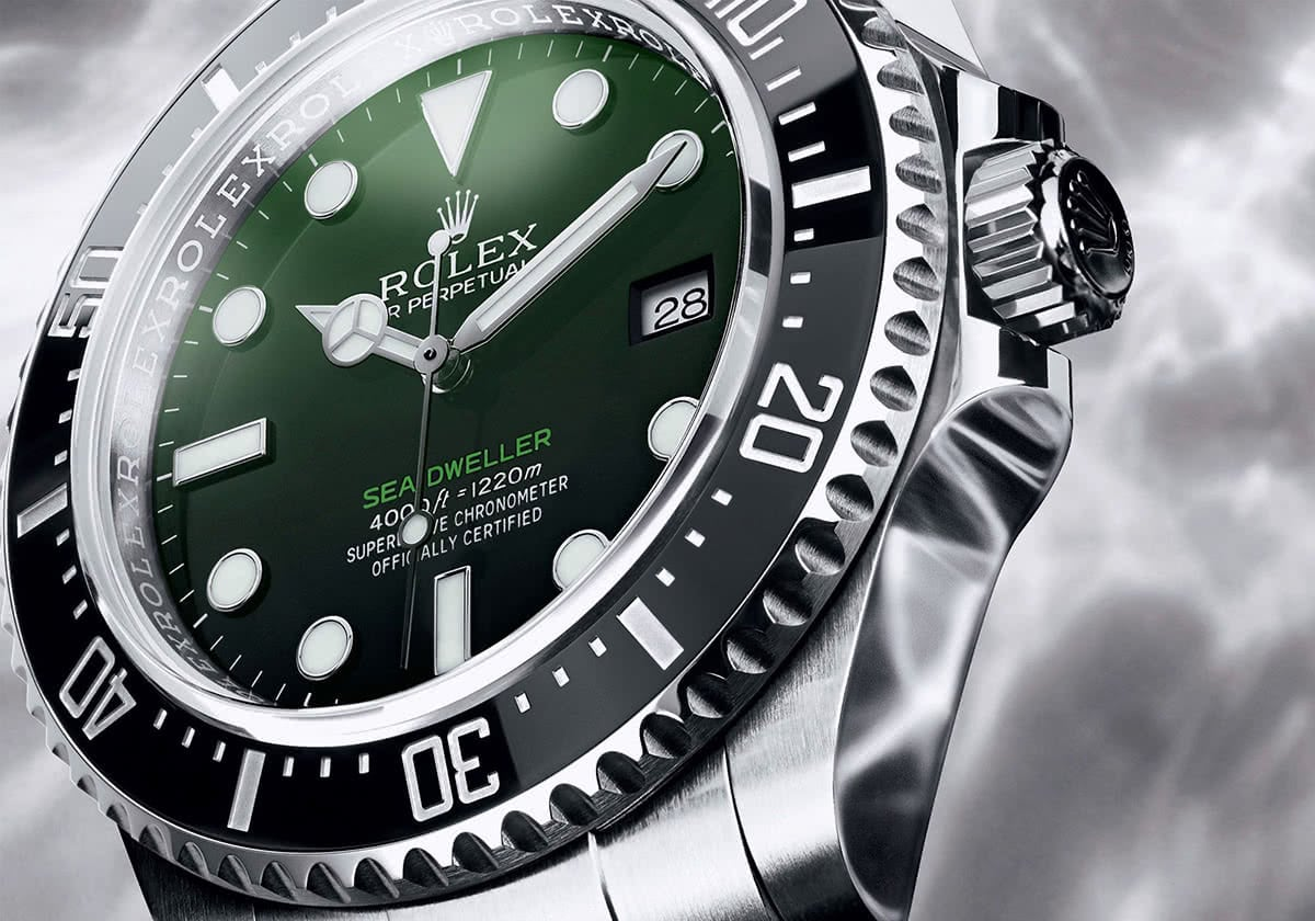 Luxe Digital luxury watch Rolex Sea-Dweller 50 anniversary
