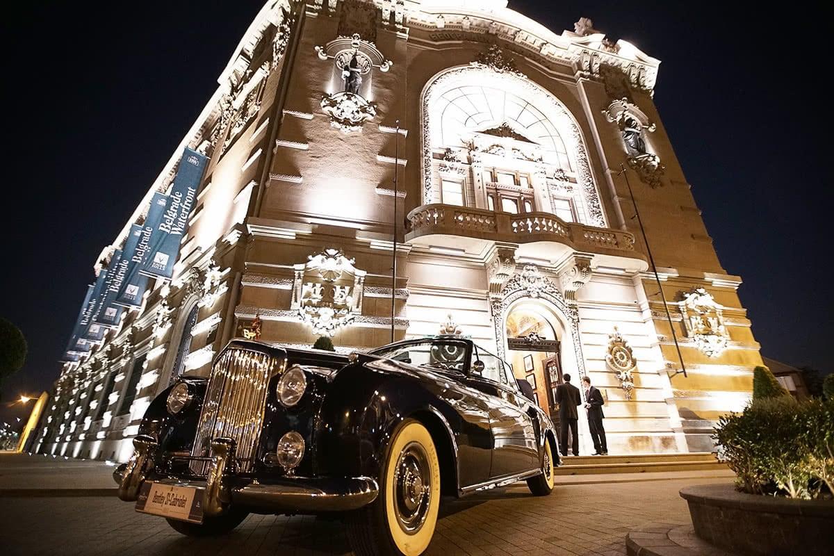 Luxe Digital 24 Hours Elegance luxury Belgrade car show