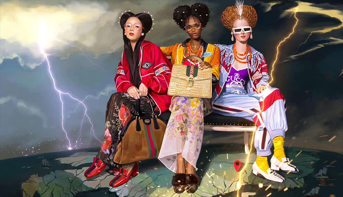 Luxe Digital Marketing to Millennials - Gucci 2018 commercial