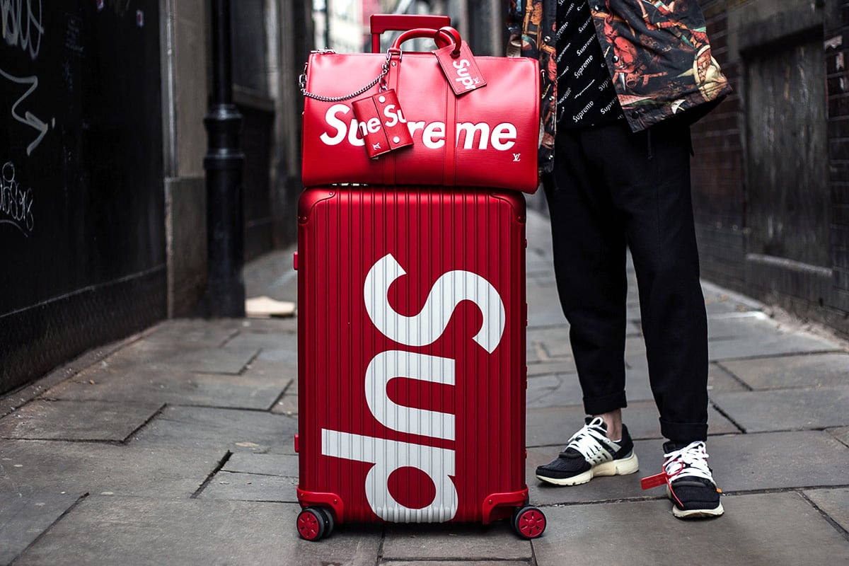 Luxe Digital Marketing to Millennials - Supreme x Rimowa 2018