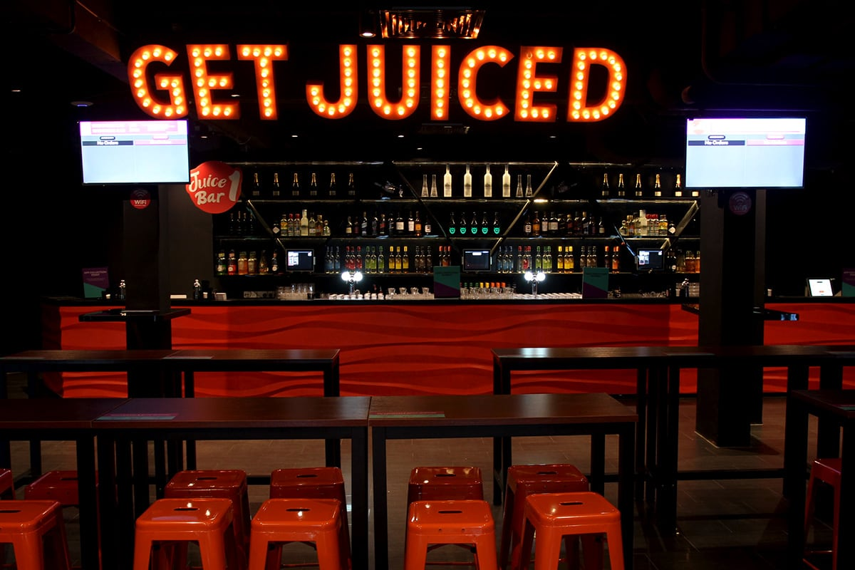 Luxe Digital Get Juiced Singapore club