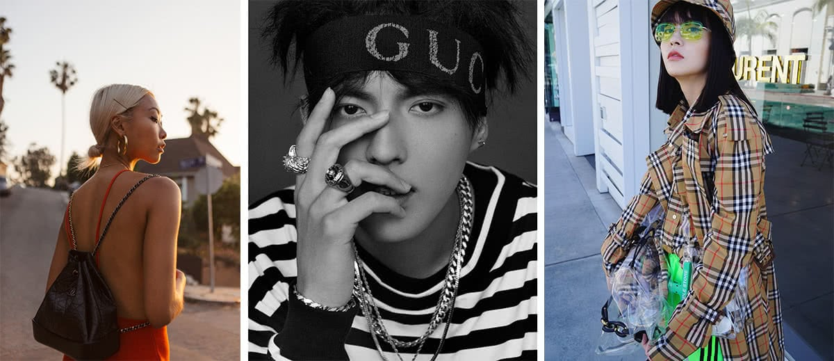 Luxe Digital luxury China influencers KOL thehautepursuit kriswu filxiaobai