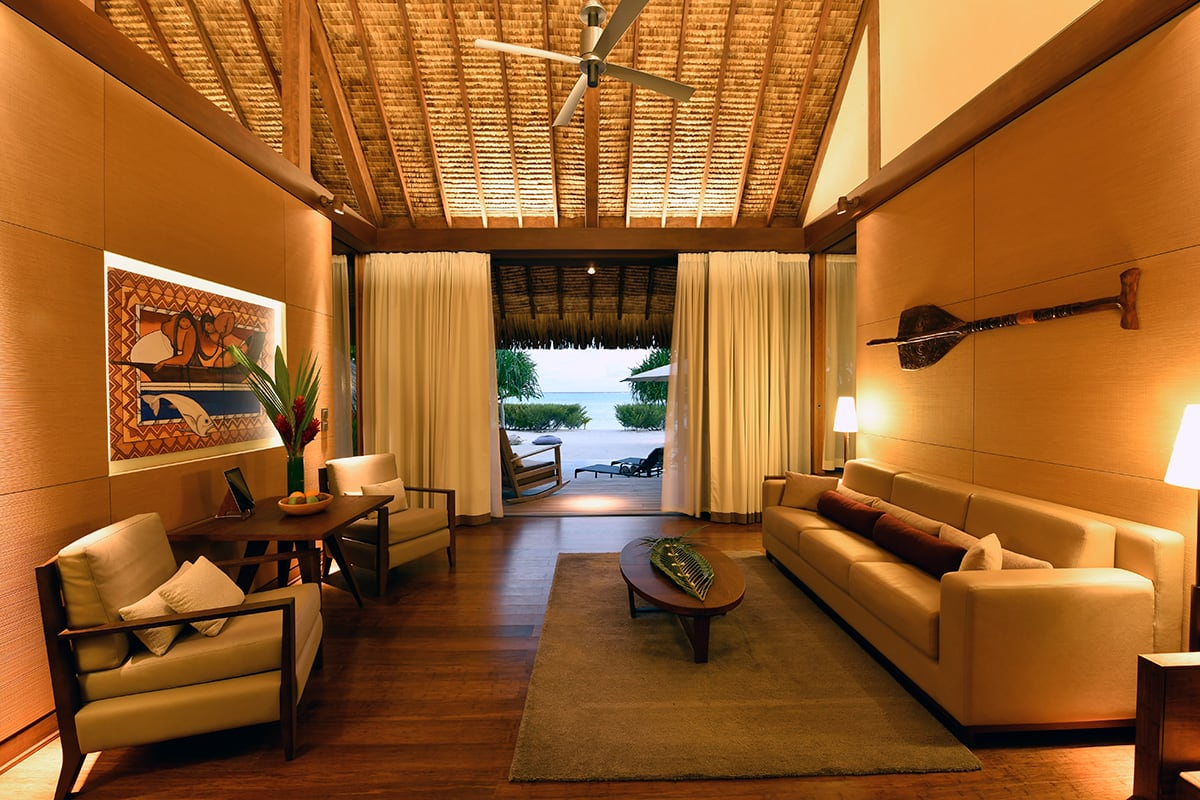 Luxe Digital luxury hotel The Brando Tetiaroa villa bedroom