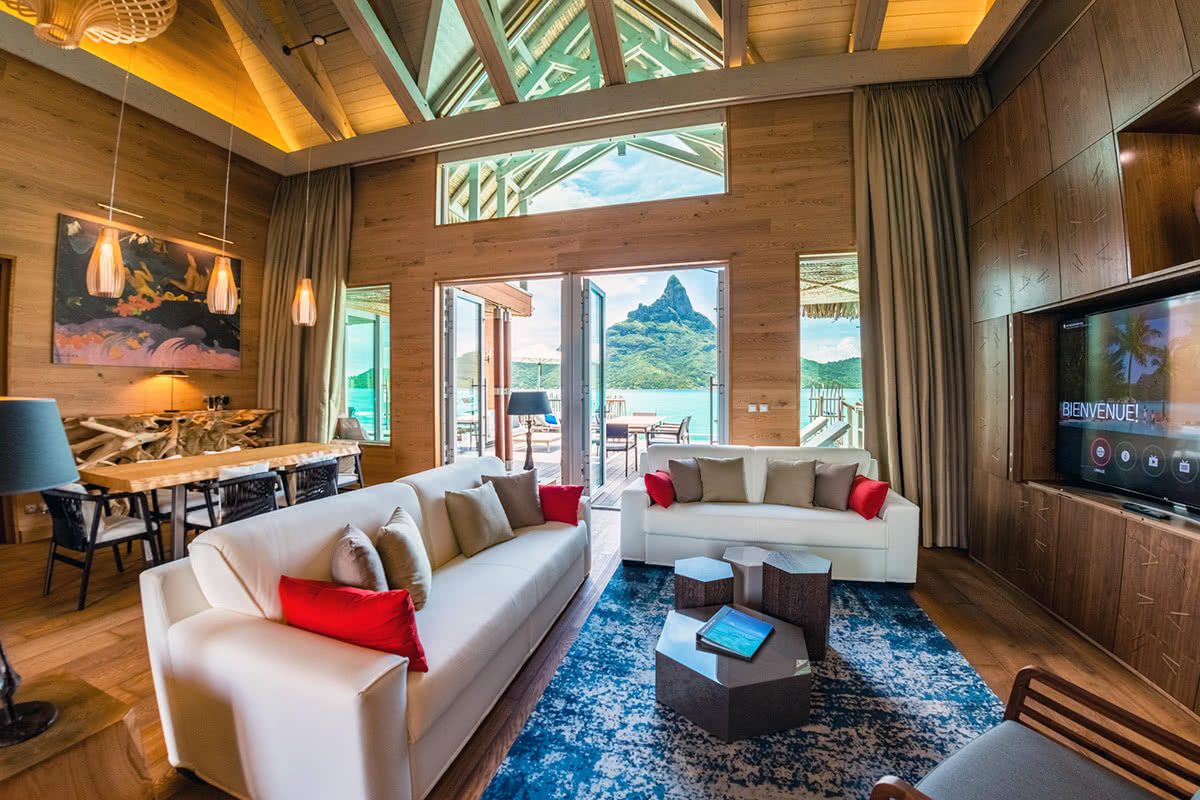 Luxe Digital luxury hotel The Brando Bora Bora French Polynesia