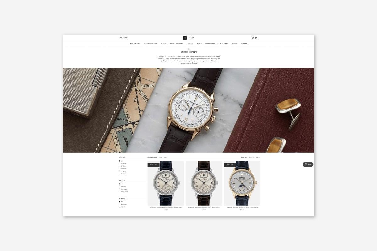 Luxe Digital luxury watch interview Hodinkee mechanical watches shop retail