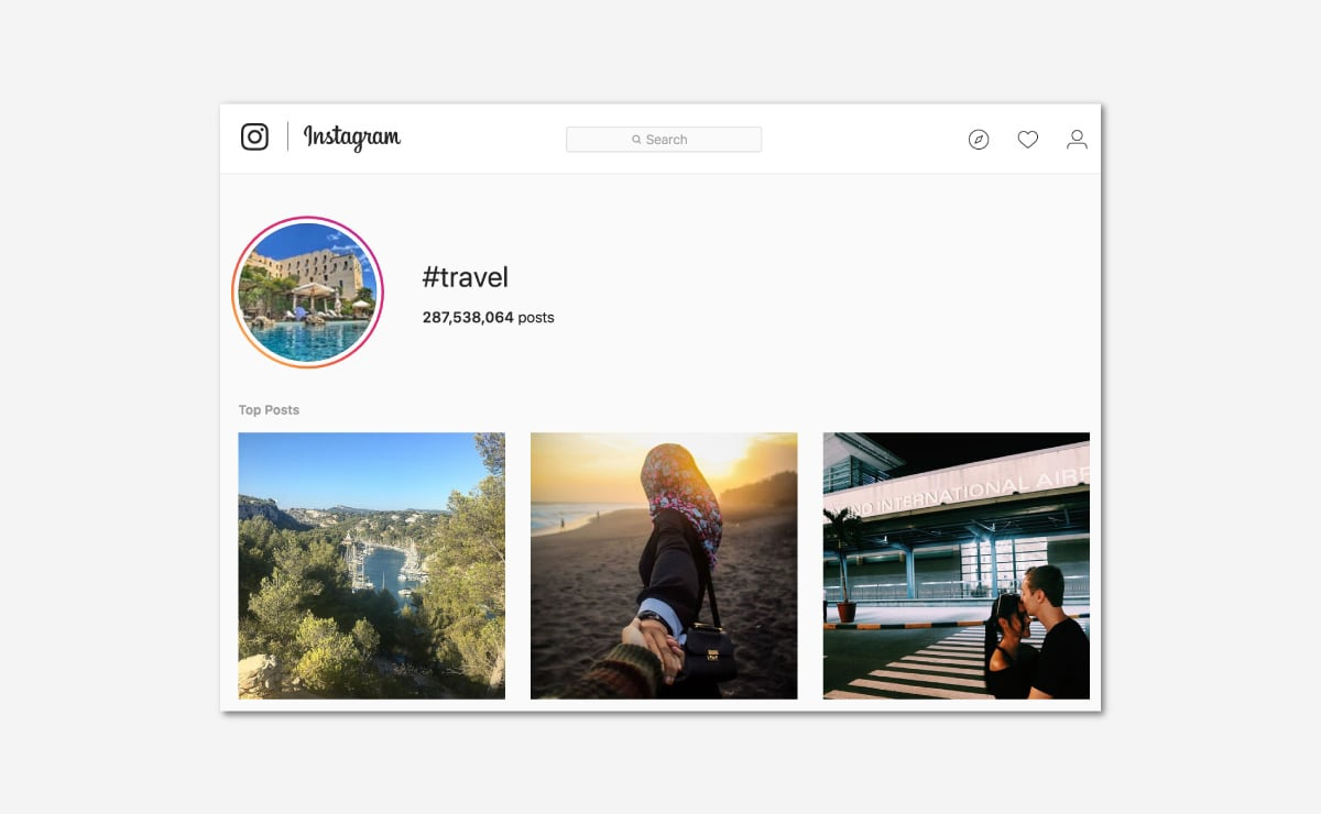 Luxe Digital luxury travel hospitality Instagram trends
