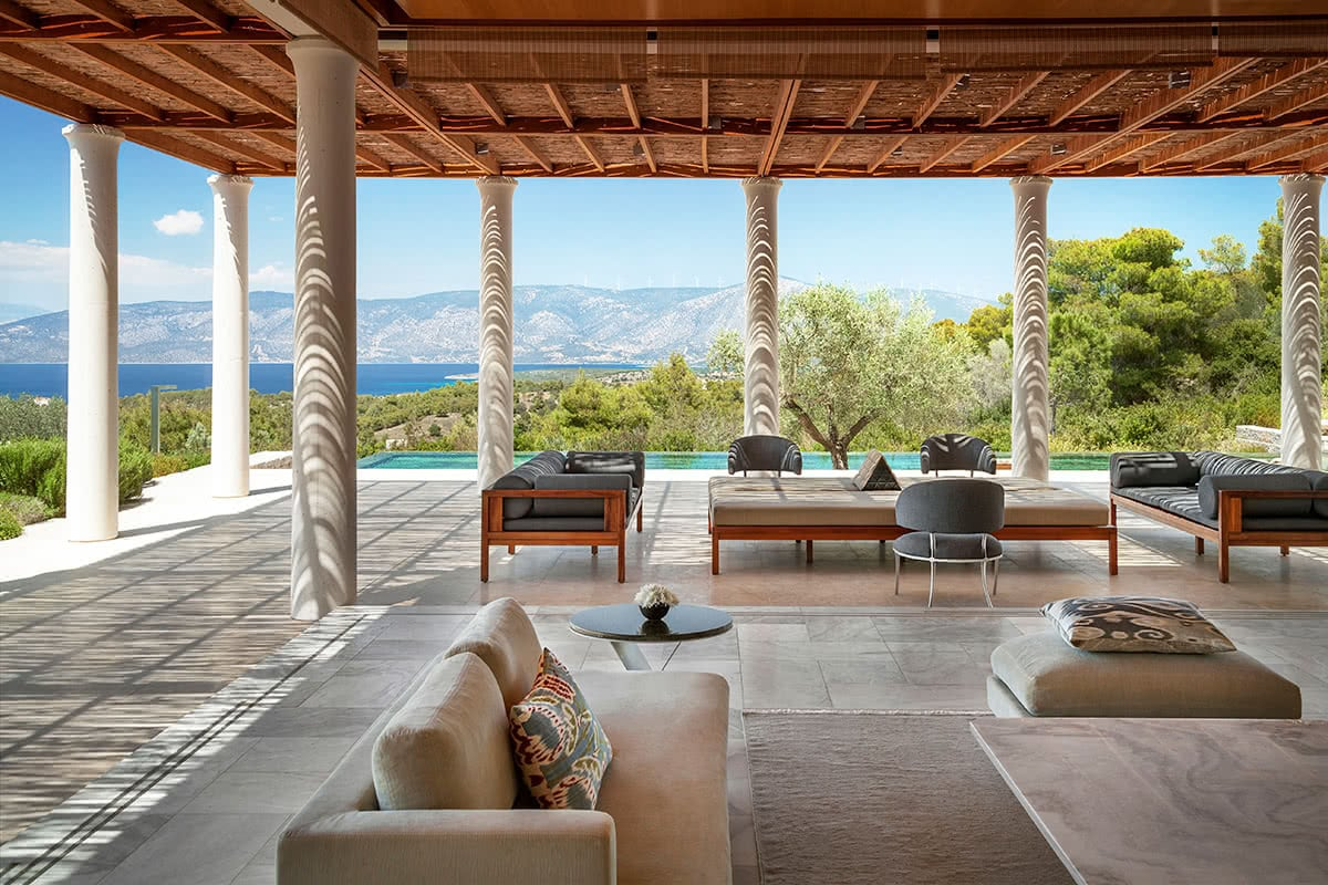 Luxe Digital Miltos Kambourides luxury Amanzoe hotel Greece