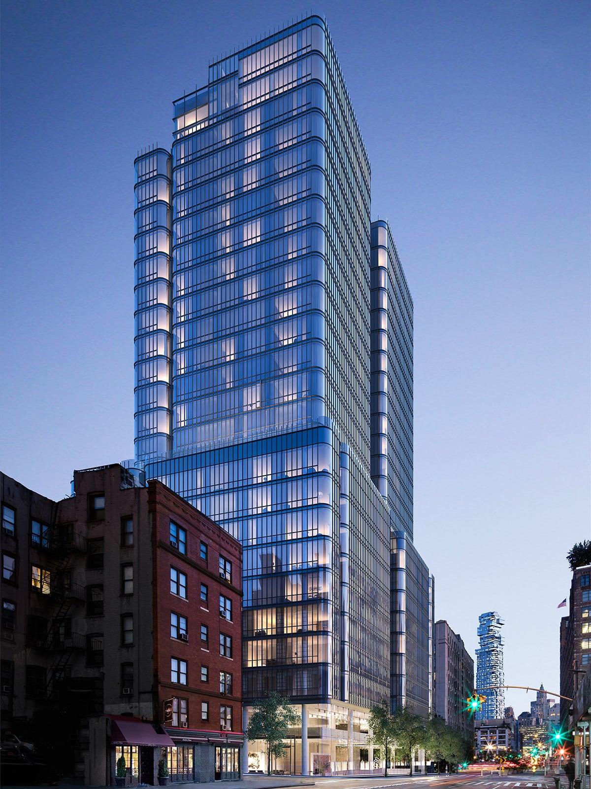 Luxe Digital luxury condo New York 565 Broome SoHo exterior