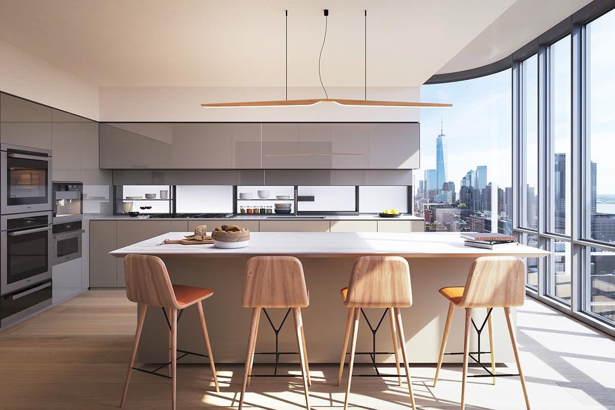 Luxe Digital luxury condo New York 565 Broome SoHo penthouse
