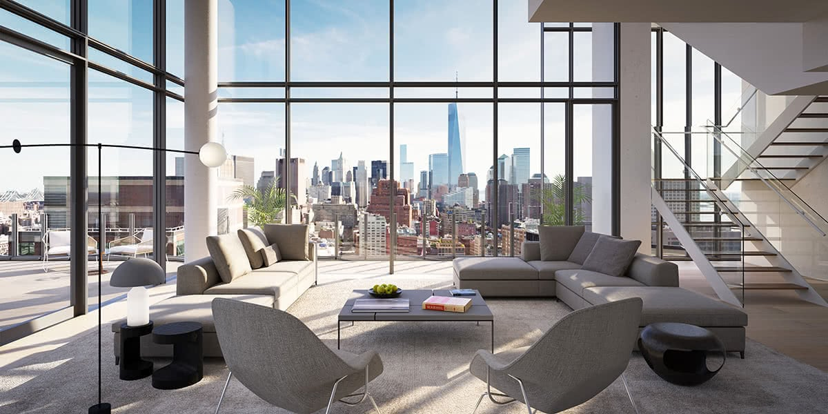 Luxe Digital luxury condo New York 565 Broome SoHo