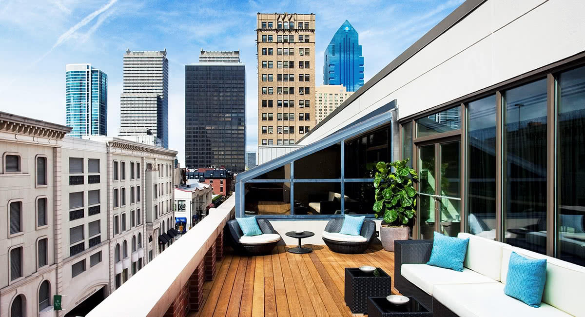 Luxe Digital luxury best hotel Philadelphia Rittenhouse Square