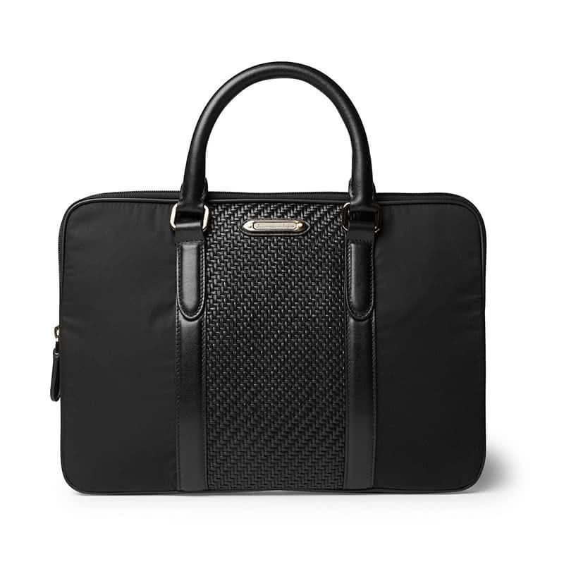 best gifts for him ermenegildo zegna pelle tessuta briefcase luxe digital