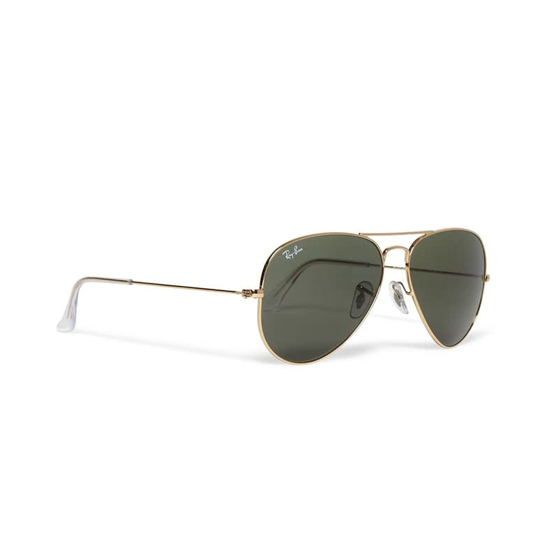 Best Father's Day gifts for him luxury guide ray ban aviator gold sunglasses luxe digital