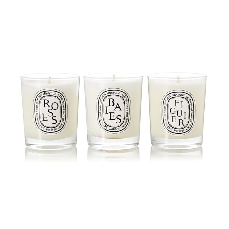 best Valentine's Day gifts for her diptyque scented candles trio luxe digital