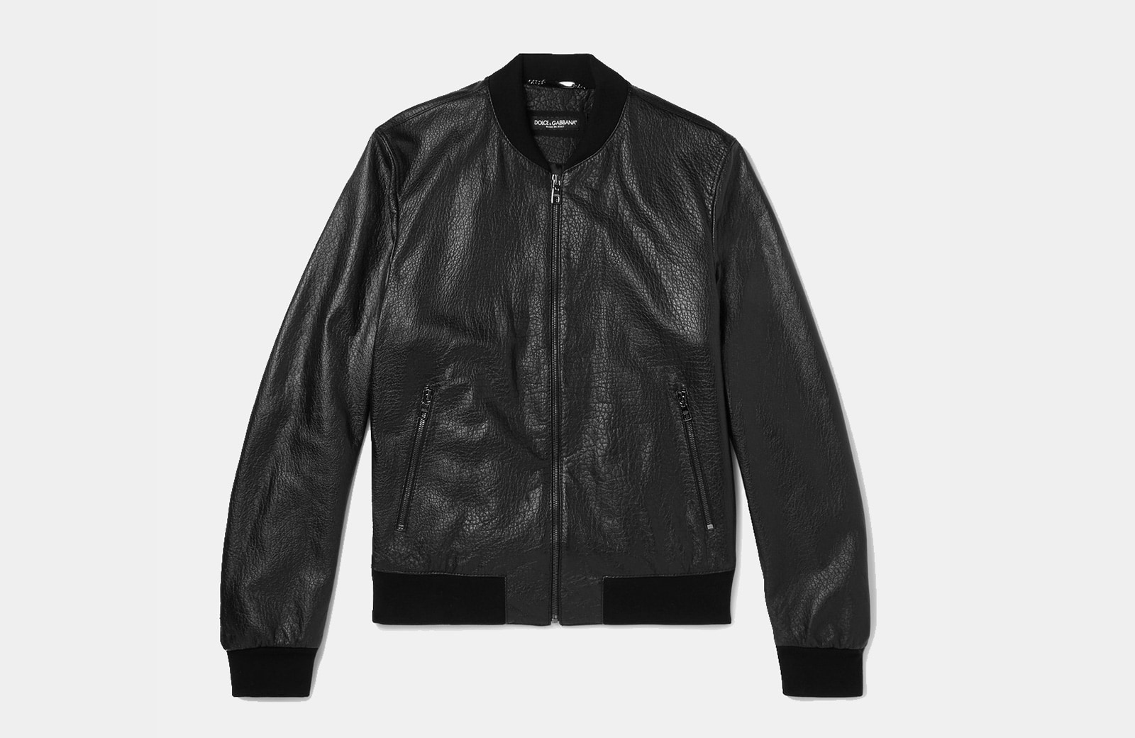 best leather bomber jacket men luxury style - Luxe Digital