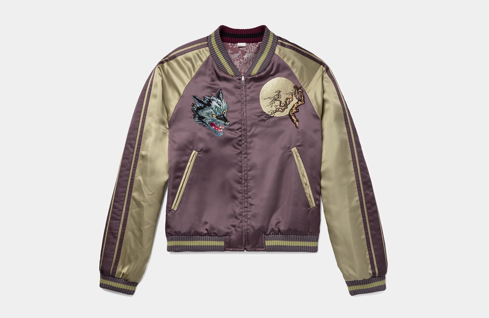 best Japanese bomber jacket men Gucci luxury style - Luxe Digital