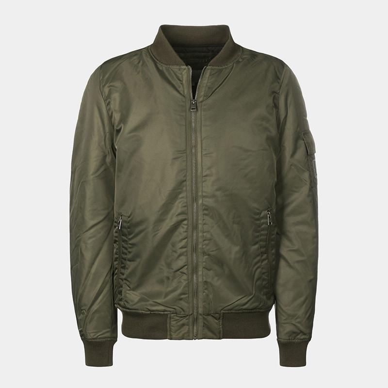 best olive bomber jacket men Calvin Klein luxury style - Luxe Digital