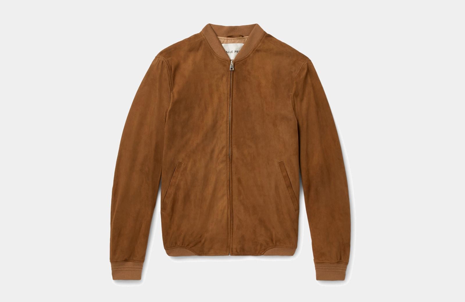 best tan bomber jacket men Salle Privee luxury style - Luxe Digital