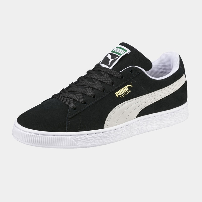 best black and white sneaker men Puma luxury style - Luxe Digital