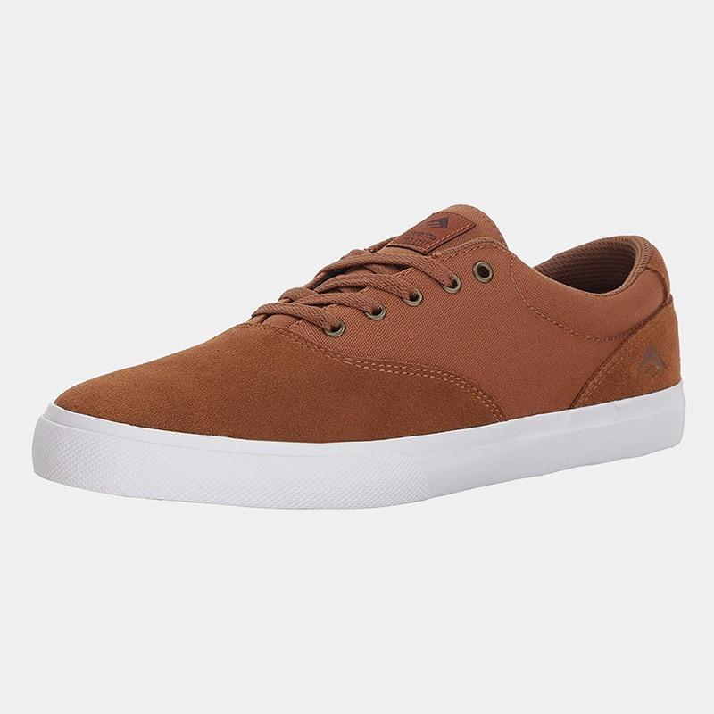 best premium leather sneaker men Emerica luxury style - Luxe Digital