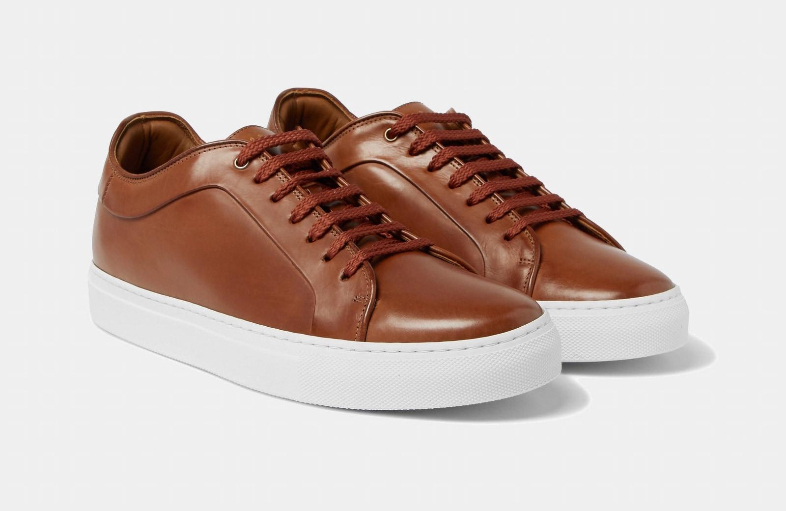 best premium leather sneaker men Paul Smith luxury style - Luxe Digital