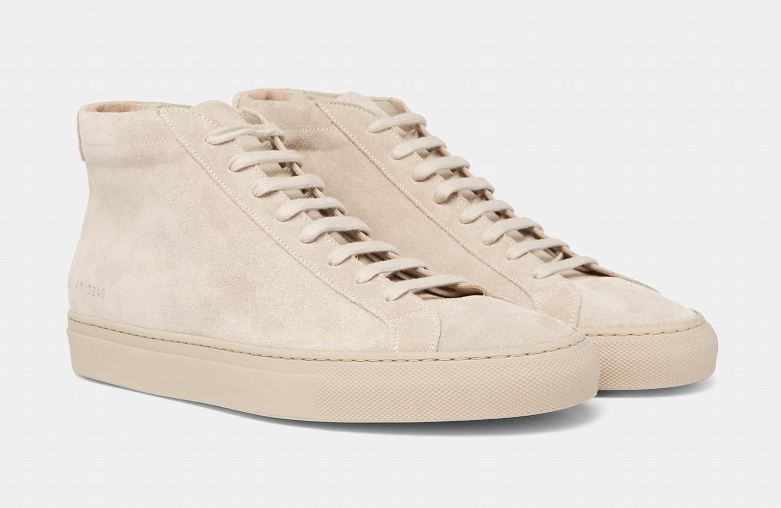 best high top sneaker men Common Project luxury style - Luxe Digital