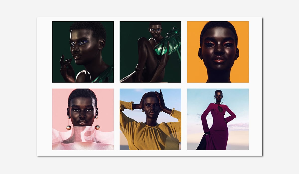 wellness luxury beauty balmain virtual model luxe digital