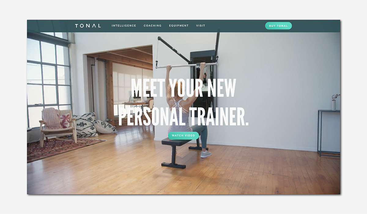 luxury wellness fitness tonal luxe digital