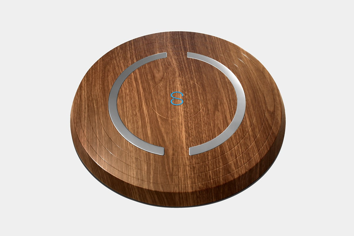 shapa smart scale oak connected health luxe digital