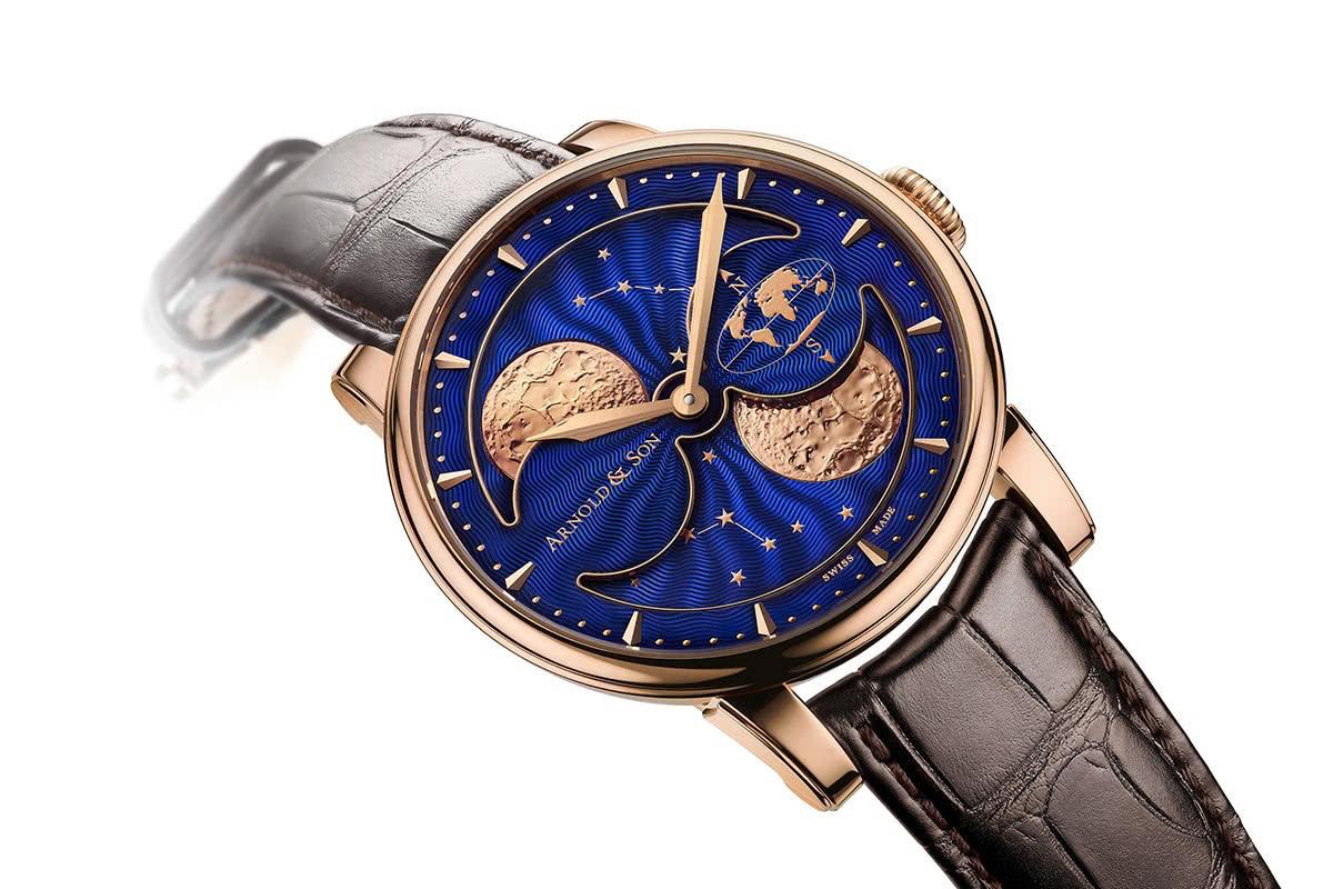 Arnold & Son HM Double Hemisphere Perpetual Moon - luxury watch Luxe Digital