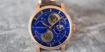 Arnold & Son HM Double Hemisphere Perpetual Moon - luxury watch Luxe Digital