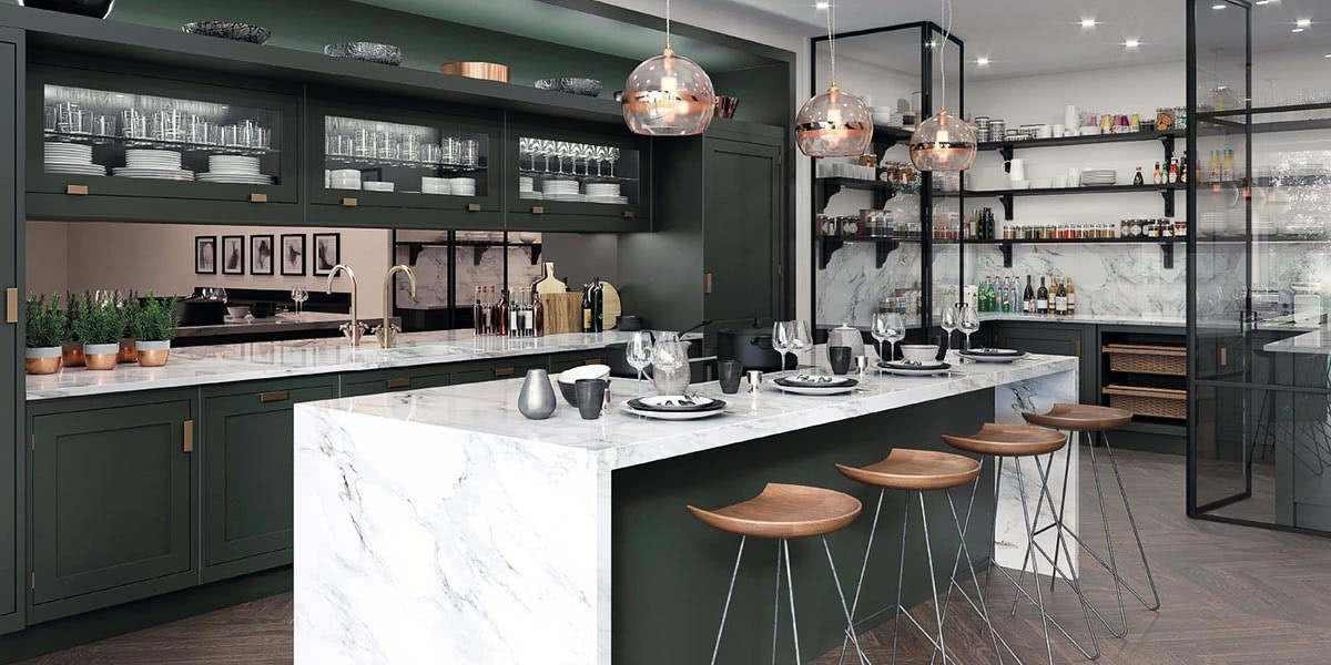 Mark Wilkinson luxury kitchen design - Luxe Digital
